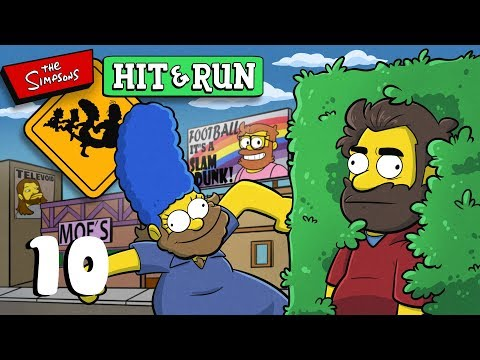 Simpsons Hit and Run | Let's Play Ep. 10 | Super Beard Bros.