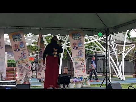 Peserta Karaoke competition paling berbakat Di Taman Tasik Datuk Keramat