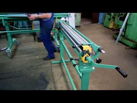 Sheet Metal Rolling Mill / Bending Rolls / Rollers / Slip Rolls / Biegerollen / Walzen