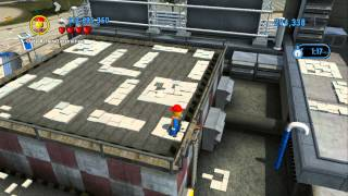 Repeat youtube video LEGO City Undercover 100% Guide - LEGO City Airport (Overworld Area) - All Collectibles