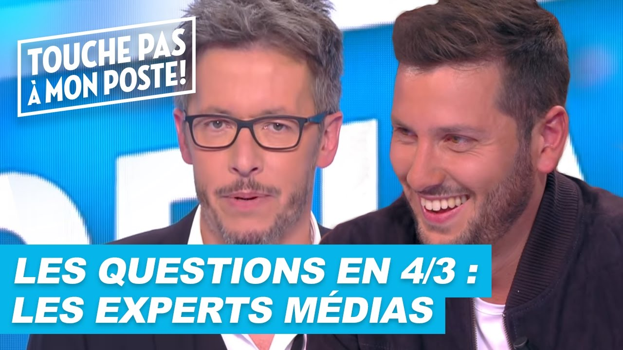 Les questions en 4/3 de Jean-Luc Lemoine : Les experts médias