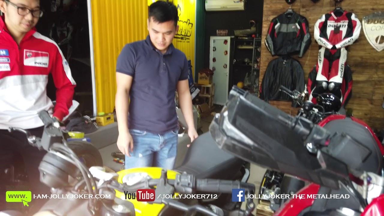 Mua xe PKL cũ ở đâu? Đi mua Ducati Scrambler | JollyJoker