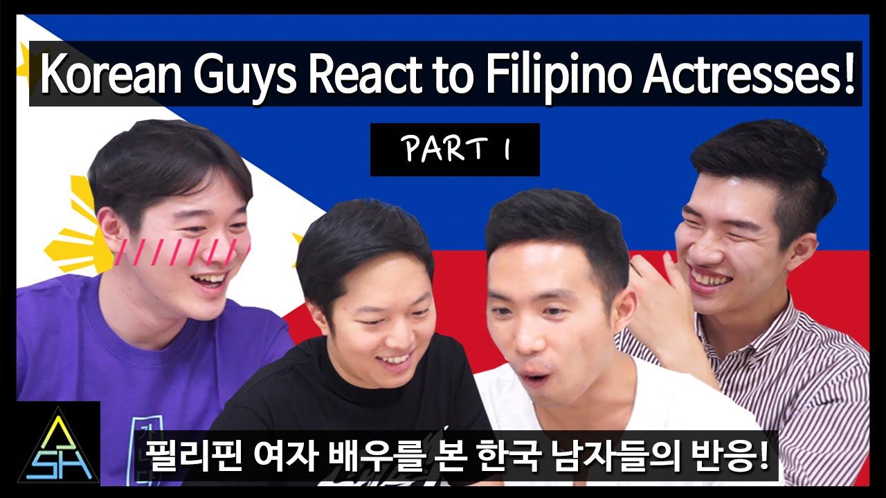 Filipinos react to korean stars dating