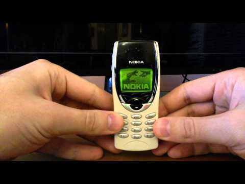Cell phone collection - NOKIA 8210