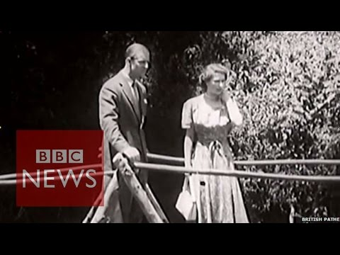 The Moment A Princess Became A Queen - BBC News