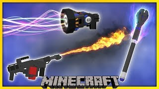 [Minecraft 1.13] New EPIC 3D Weapons (Command Functionpack)