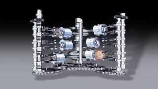 AUDI : Animation V6 TDI de 3L  165 KW à 4000tr/min
