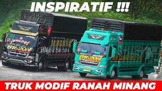 Download TERLALU TAMVAN !!! Pesona Truk Sultan Asli Ranah Minang Gemparkan Sitinjau Lauik