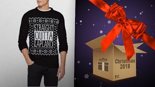 Top 10 Men Christmas Jumpers / Countdown To Christmas 2018! | Christmas Gift Guide