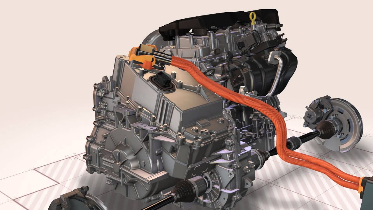 medium resolution of 2016 chevy volt powertrain animation evans electric