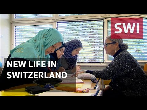 Syrian refugees: calling Switzerland home
