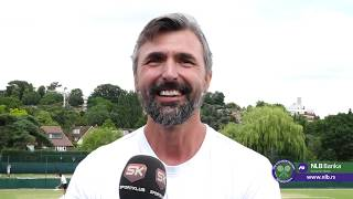 Goran Ivanišević je Impresioniran Novakom Đokovićem   SPORT KLUB TENIS