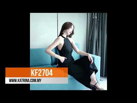HALTER JUMPSUIT KF2704