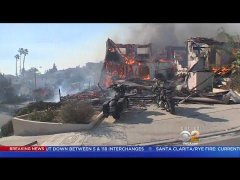 Thomas Fire Destroys Homes