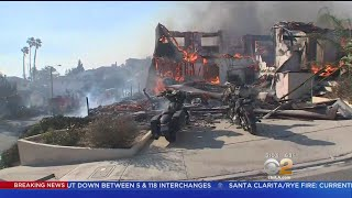 Thomas Fire Destroys Homes