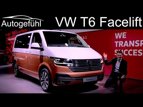 VW T6 Facelift REVIEW Volkswagen Bulli Multivan 6.1 - Autogefühl
