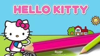 Hello Kitty Coloring Book - App Gameplay Video