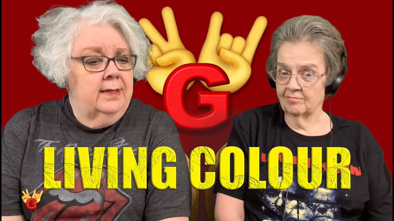 2RG - Two Rocking Grannies Reaction: LIVING COLOUR - CULT OF PERSONALITY