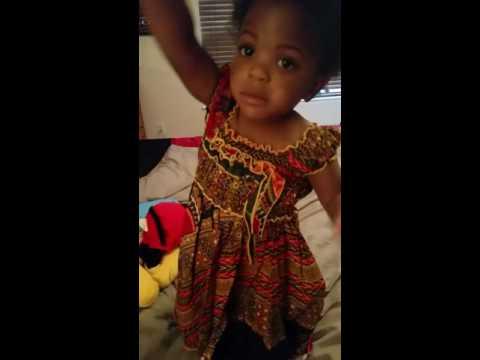 True likes dress from Togo