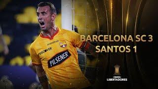 Barcelona SC vs. Santos [3-1]   RESUMEN   Fecha 6   CONMEBOL Libertadores 2021