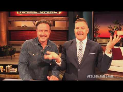 JUST ONE AWAY with Ross Mathews & David Arquette | Celebrity Name Game