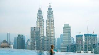 Auf Weltreise aus Versehen eingebrochen! The Face - Kuala Lumpur | VLOG #305