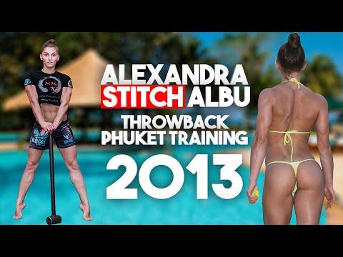 Alexandra Stitch Albu throwback 2013 Phuket training / Александра Албу Тайланд 2013