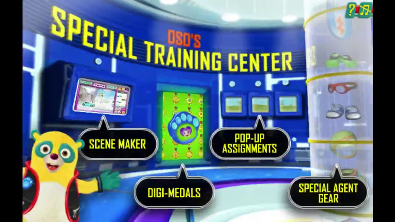 Special Agent Oso: Special Training Center Disney Junior Game!