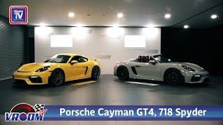 Porsche 718 Cayman GT4 dan 718 Spyder pilihan prestasi