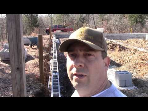Building My Own Home: Episode 7 -  Back Filling the Porch Walls