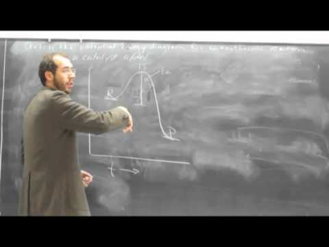 Potential Energy Diagram Catalyst Added Youtube