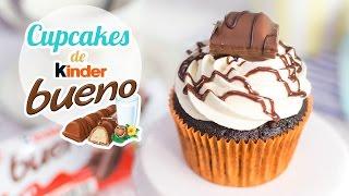 Cupcakes de Kinder Bueno  Quiero Cupcakes!