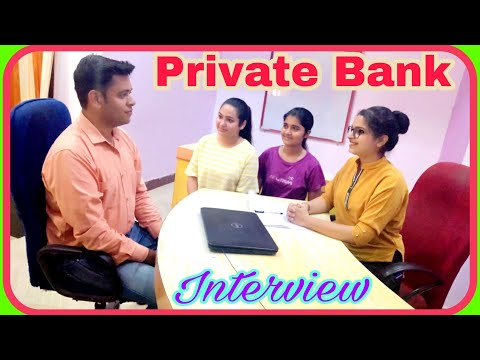 Private #Bank #Interview for freshers