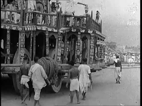Rath Yatra in Jagannath Puri - 9 July 1937