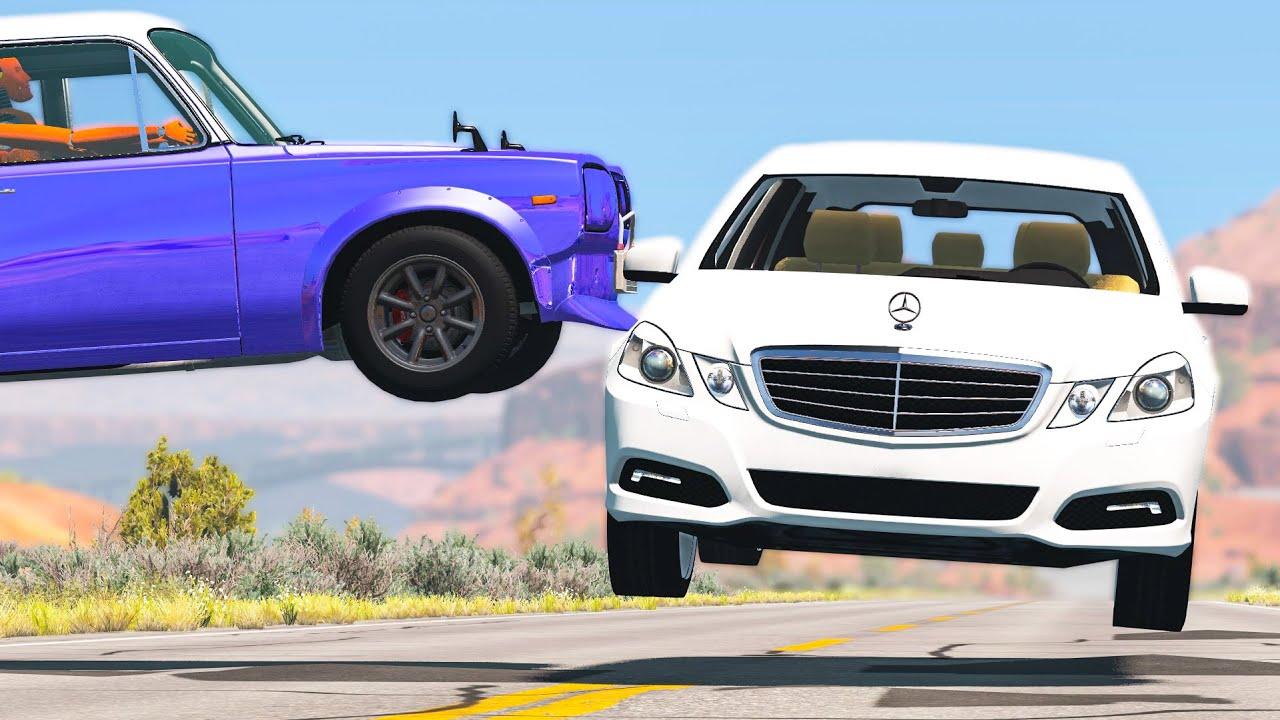 Extreme Car Crashes Compilation #195 - BeamNG Drive | CRASHdriven