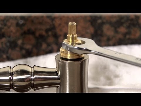 How to Clean a Kitchen Faucet Cartridge