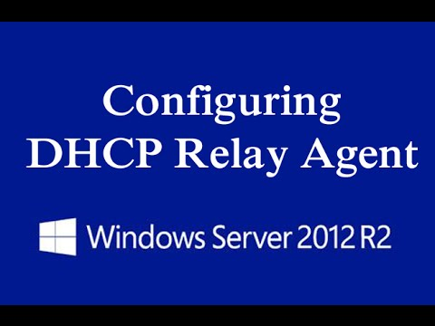Configuring dhcp relay agent on windows server 2012 r2 for Consul server vs agent