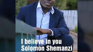 Gambar cover I believe in you by Solomon Shemanzi