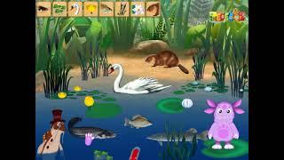 Лунтик познает мир животных и растений. Обучающая игра для малышей смотреть онлайн