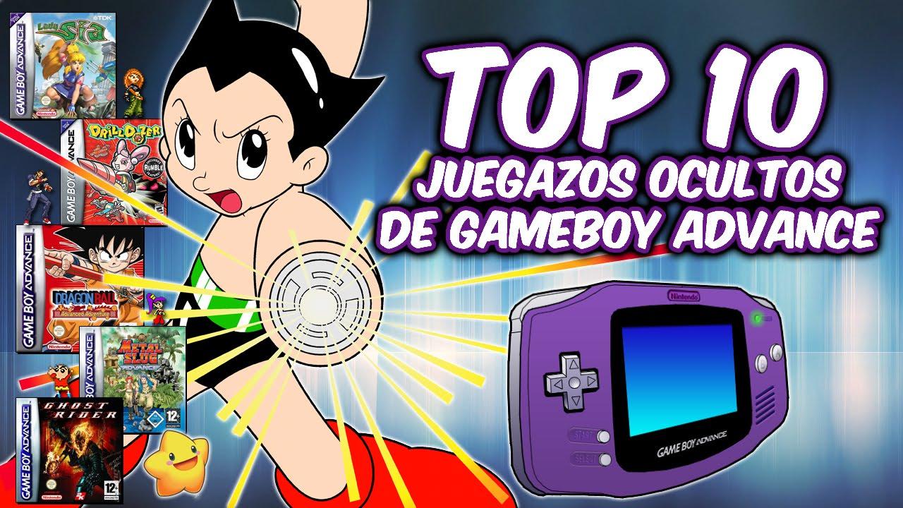 Top 10 Grandes Juegos Desconocidos De Game Boy Advance Gba Youtube