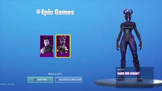 Comment obtenir le pack de réflexions sombres gratuitement en fortnite. (lire la description)
