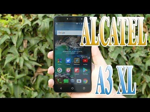 ALCATEL A3 XL: REVIEW EN ESPAÑOL (2018)   PHABLET GRANDE Y BARATO