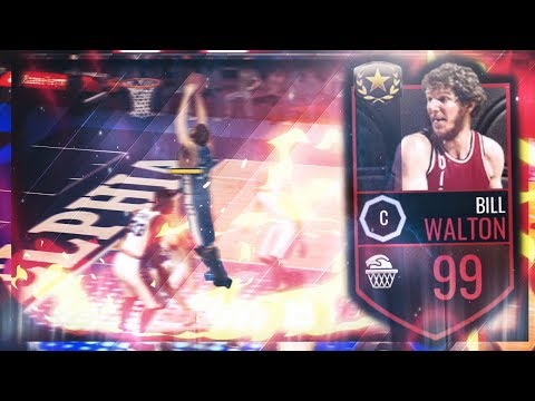 99 BILL WALTON 15 POINT CHALLENGE! 5 MIL GIVEAWAY WAGER! NBA Live Mobile GAMEPLAY (Shopping Spree)