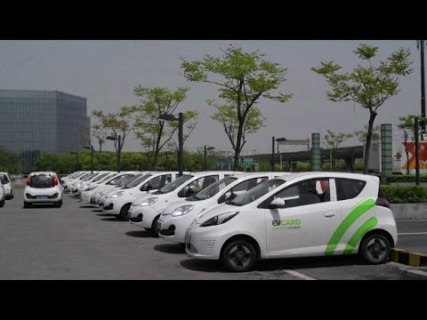 Automakers see promise in China car-sharing