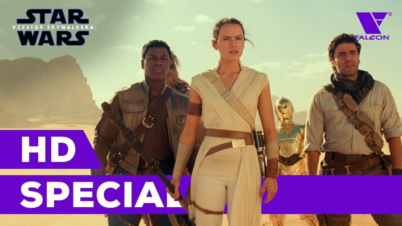 Star Wars: Vzestup Skywalkera (2019) HD Special | D23 Special Look | CZ dabing