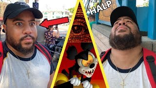 I ALMOST DIED AT DISNEYLAND