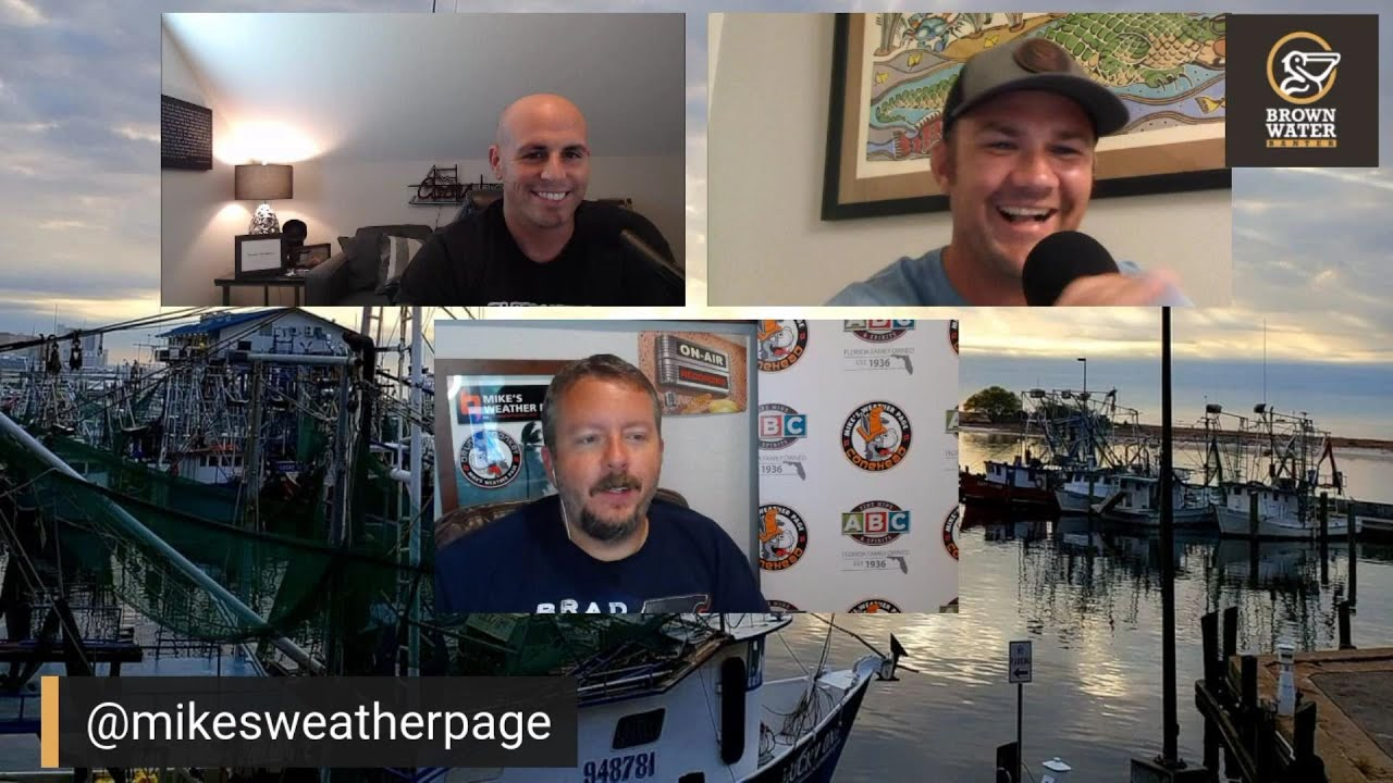 Brown Water Banter Ep 61| Mike from Mike's Weather Page #brownwaterb