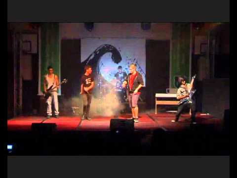 As I Lay Dying- Through Struggle (Band Cover) Talent Show HD