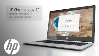 HP ChromeBook Pro 13 Distinctive design and Chrome™ productivity