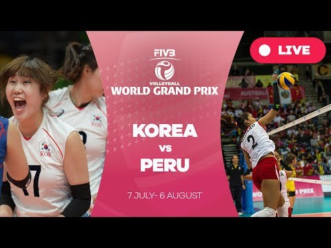 Korea v Peru - Group 2: 2017 FIVB Volleyball World Grand Prix